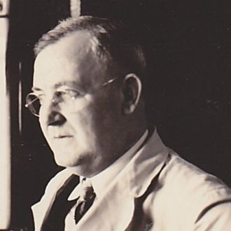 "A photo of Dr Raymond Alexander ""Papa Ray"" Behrle"