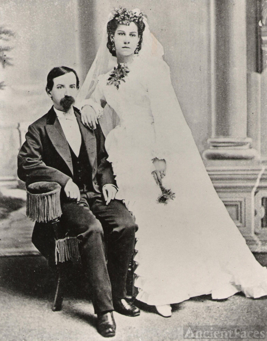 William & Erselia (Morante) Cazneau, California 1872
