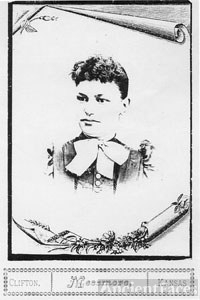 Unknown Cyr woman, Kansas