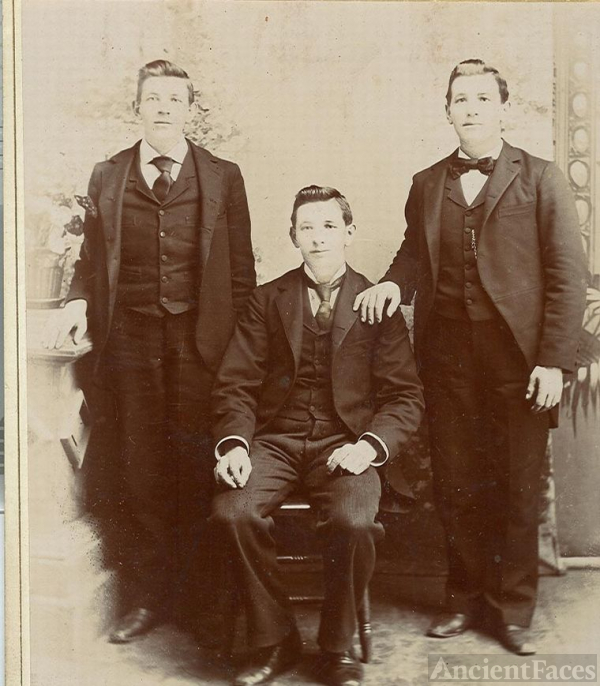 Patrick Dillon's three sons