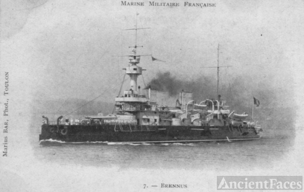 Brennus - French Battleship