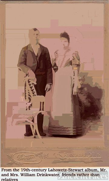 Wm. Drinkwater and wife