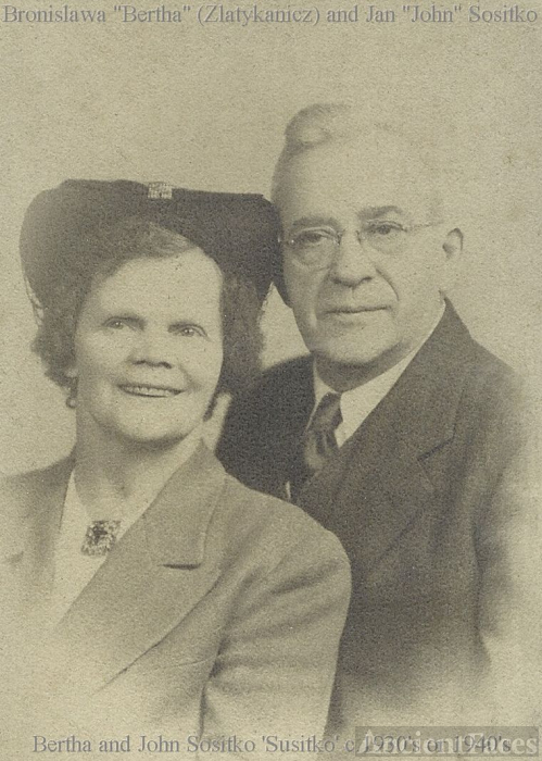 John and Bertha Sositko