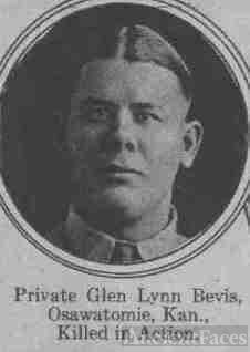 Private Glen Lynn Bevis