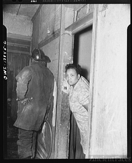 Firehouse Station No. 4. Washington, D.C. A woman looking...