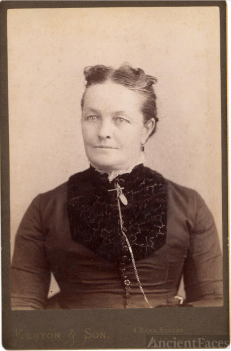 Mary Frances Robinson, Mrs. Josiah Toms