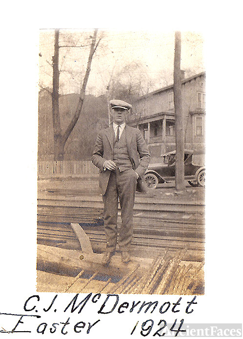 Chester John McDermott, Sr. - Easter, 1920
