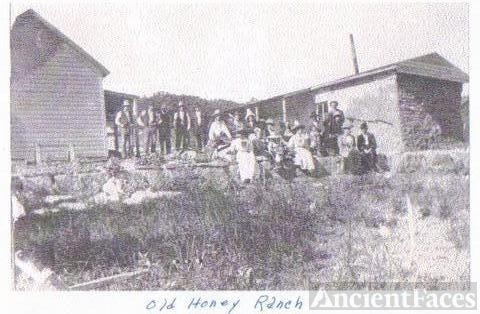 Honey Family, New Mexico 1915