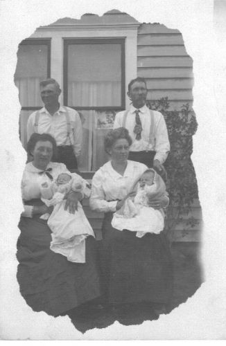 Moses, Lucy, and West families, Montana