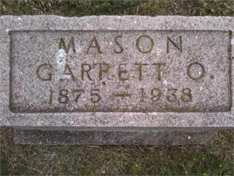 A photo of Garrett Orin Mason