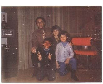 Dad w/Paul, Jim and Guy