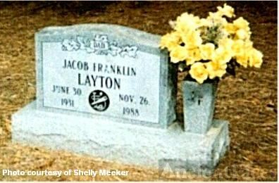 Jacob Franklin Layton 1931-1988