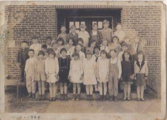North Ward School 1928-29