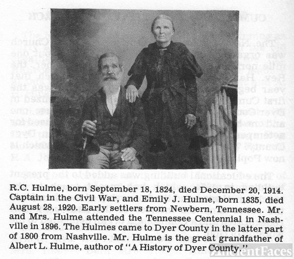 R.C. and Emily Hulme