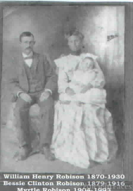 William & Bessie (Clinton) Robison & Myrtle