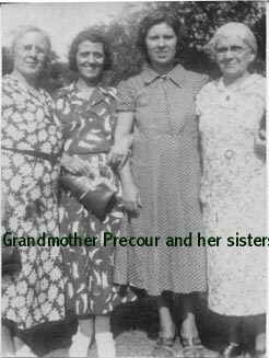 Gandma Precour and her sisters