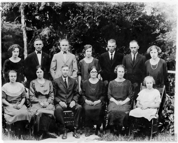 William and Bertha Warneke Family