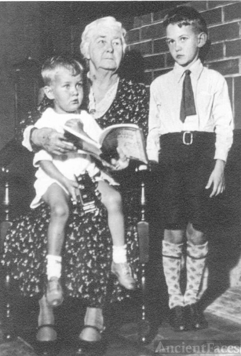 Petrina Johnsen with her Halkett grandsons