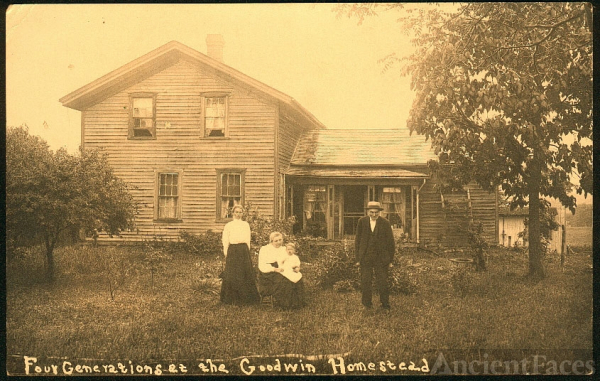 Goodwin Homestead, 4 generations