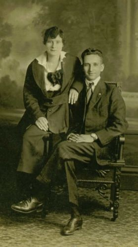 Mae Beatrice Webster McClurg and William Isaac McClerg