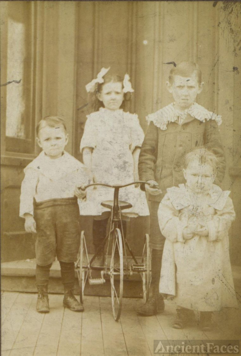 Frank and Mary Bass Children