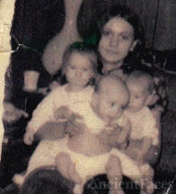 Donna Mary (Orticelli) Raslawsky & babies