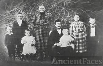 Albert Henry Family Photo