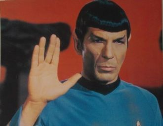 Leonard Nimoy as Spock - Star Trek