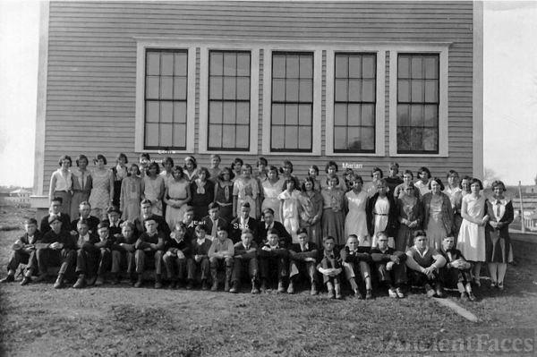 Hodgdon School Photo 1925 maybe