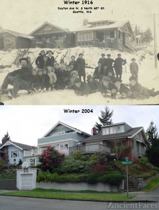 Greenlake Homes 88 Years Apart