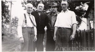 Uncle Ben Parks, Dad Merchant, Unknown and Allan