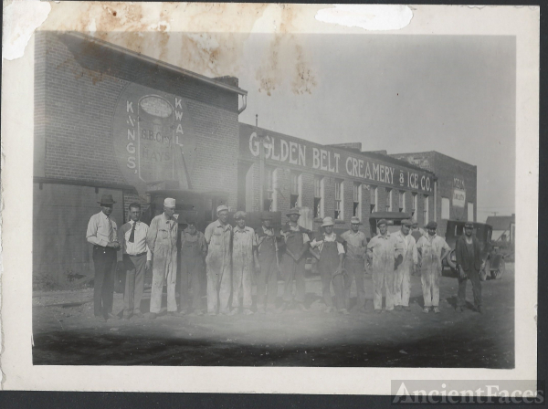 Golden Belt Creamery & Ice Company c.1915
