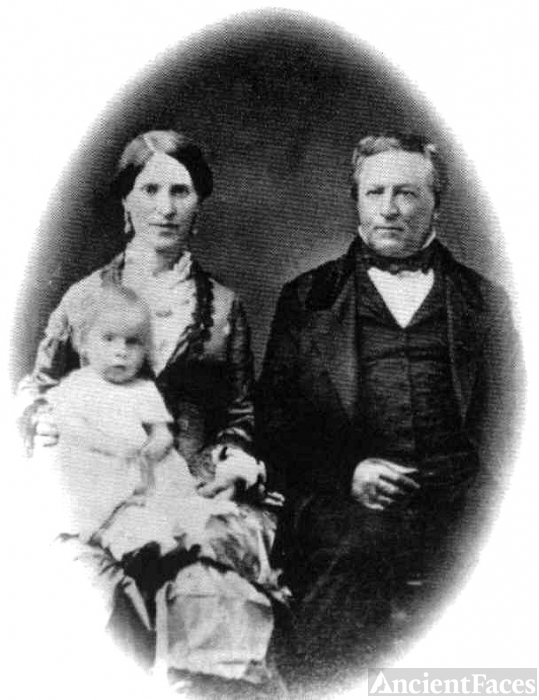 Dr. John Marsh, wife Abigail Tuck Marsh, dau Alice