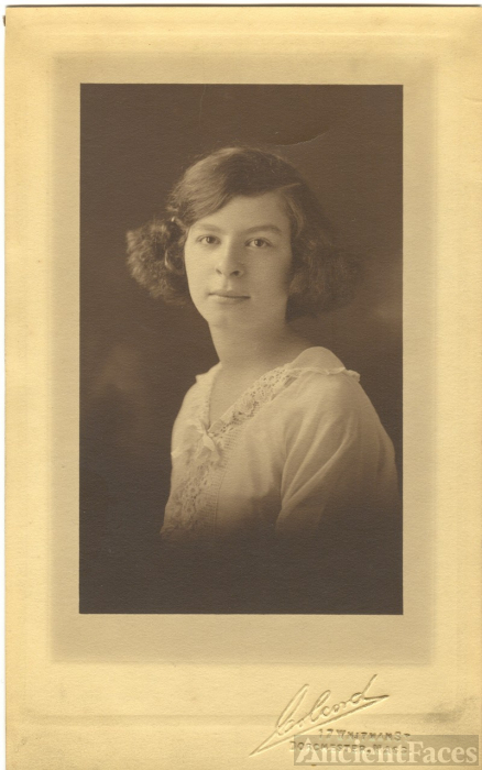 Sadie Berman, Dorchester High School 1921