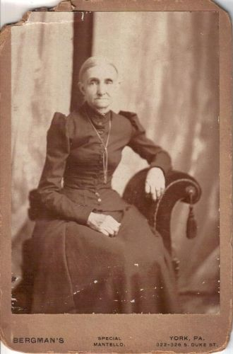 Mrs. Waltman mother of William Sipe