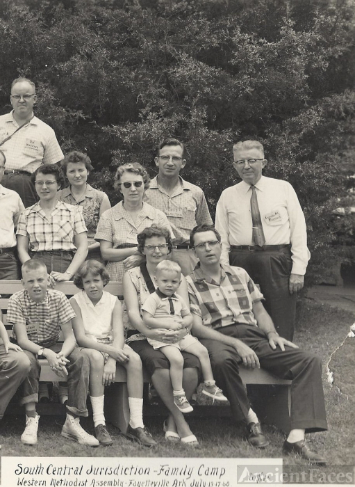Methodist Family Camp, 1960 Arkansas