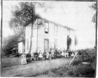 Gutridge family reunion 1899
