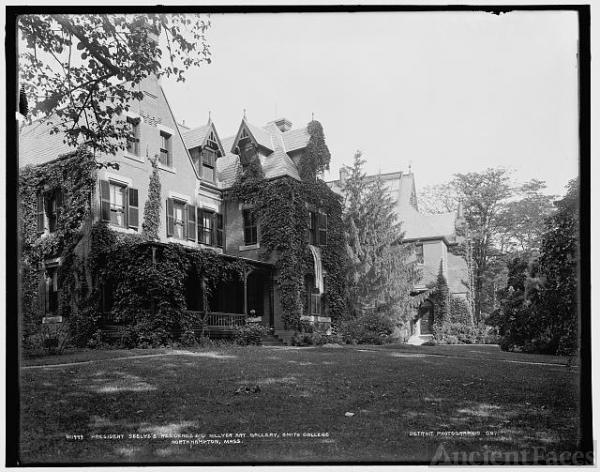 President Seelye's residence and Hillyer Art Gallery,...