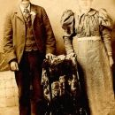 Benjamin Franklin and Clara Gertrude Morgan Hardiman, OK 1890's