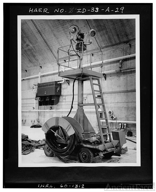 29. [ FET 60-1312 ] VIEW OF TELEVISION DOLLY IN TAN 629...