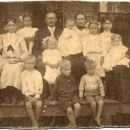 Unidentified Pedigo family, c1890