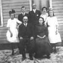 Milton Carpenter Gunter family