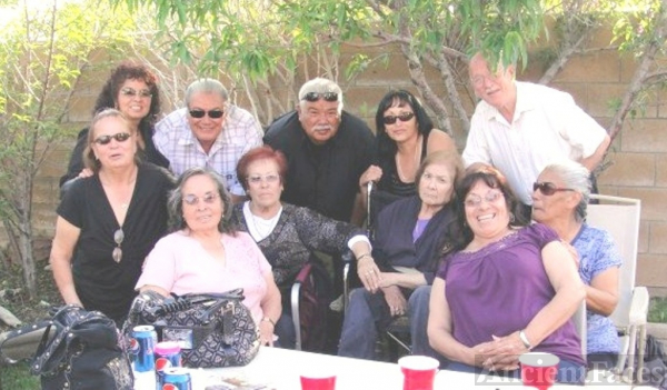 Curiel family, California 2009