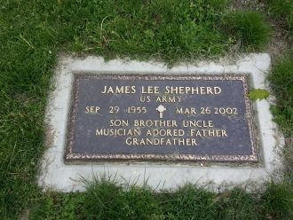 James Lee Shepherd gravesite