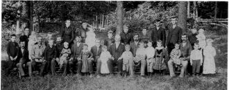 Doty Family in 1892, Johnson County, Indiana
