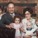 Henry and Nellie Brucker with grandchildren
