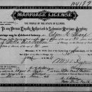 Edgar Hobbs Tharp Sr marriage license