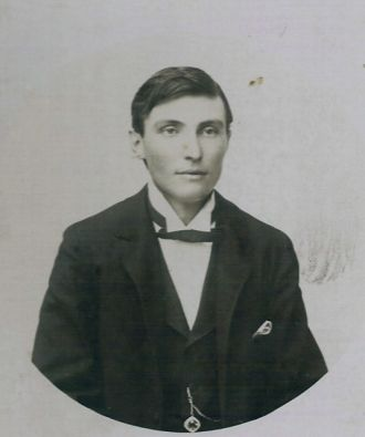 John Henry Eayrs as a young man