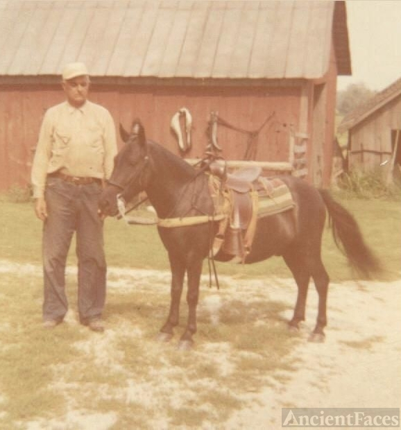 Fred Oxley with horse