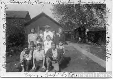 Harley Wright Family, Ohio 1940